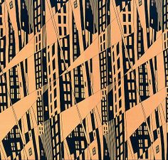 Manhattan print. 1925