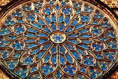 Rose Window, Santa Maria del Pi Church, Barcelona