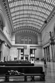 Alone (Union Station, Chicago)