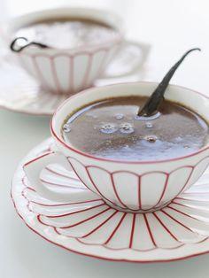 Vanilla bean hot chocolate!