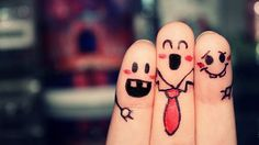 A Happy Finger Family.