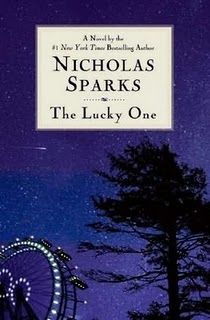 the lucky one, by nicholas sparks.