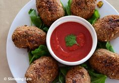 Baked Spicy Kibbeh | Slimming Eats - Slimming World Recipes