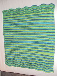 Sunny Baby Blanket Knitting Pattern : Knitting Ideas on Pinterest