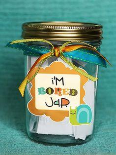 I'm board jar