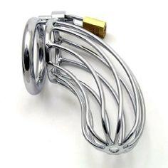 Male Chastity Belt Cage from Bondage-Shop4u   $27.15  FunAndFantasies.com