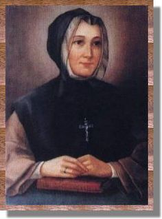 St. Marguerite d'Youville foundress of the Sisters of Charity, the Grey Nuns of Canada.  Feastday: April 11th