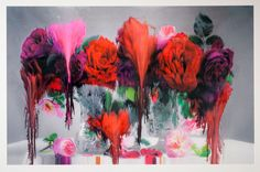 floral paintings, nick knight