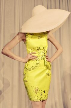 Yellow trend! fashion