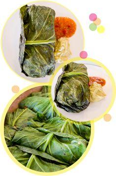 collard green enchiladas