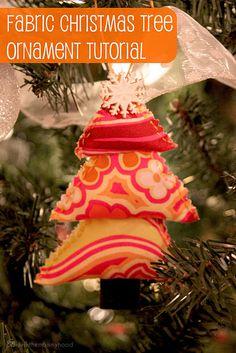 scrappy tree ornament.