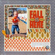 Fall is Here - Scrapbook.com