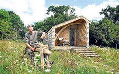 Kevin McCloud's eco-cabin