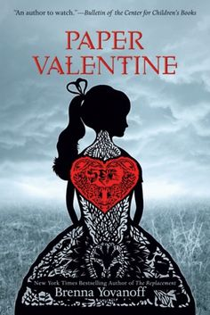 Cover Reveal: Paper Valentine  by Brenna Yovanoff. Coming 1/8/13 & Win an ARC http://brennayovanoff.com/2012/08/21/paper-valentine-arc-contest/