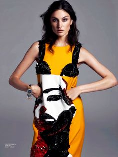 Jacquelyn Jablonski by Driu and Tiago for Interview Magazine Russia March 2014