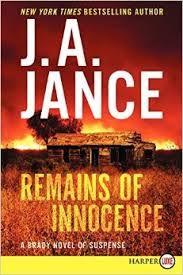 """""""Remains of innocence"""" by J. A. Jance / MYS JANCE [Jul 2014]"""