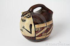 Colombian ceramic vessel