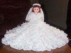 MEAGHAN free crochet bed doll pattern for 13 inch doll