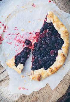 Call me cupcake: Blackberry galette