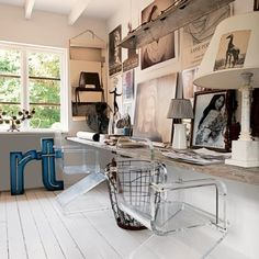 interesting/eclectic office space
