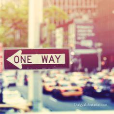 One way york, nyc