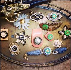Vintage Chanel jewels