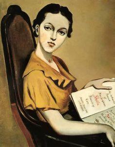 Balthus - Sheila Pickering, 1935.