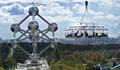 Atomium, Brussels - dinner in the sky