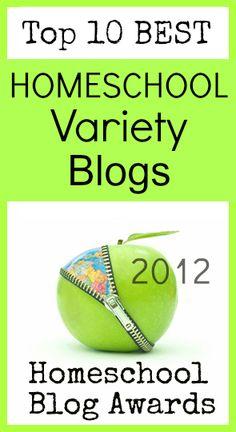 Top 10 #Homeschool Variety Blogs @The Homeschool Post
