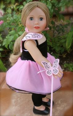 Fairy Costumes for American Girl Dolls are at www.harmonyclubdolls.com  Also visit our own Exclusive line of 18 Inch Harmony Club Dolls. Meet Cadence Rose, same size as American Girl Dolls wearing a premium kanekalon hair wig.