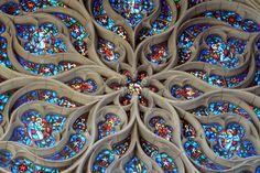 The Rose Window of St. John's Episcopal Church, Spokane, Washington