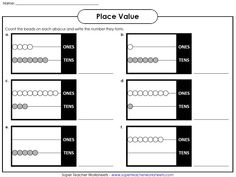 Check out our place value worksheets page!