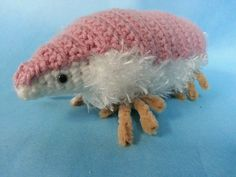 "I was all like, ""no one ever made a Pink Fairy Armadillo before. I'm gonna do that..."" WRONG! #crochet #amigurumi #armadillo"