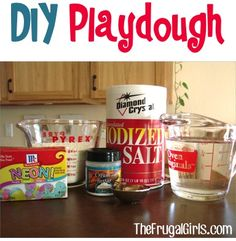 How to Make Homemade Playdough! ~ from TheFrugalGirls.com ~ this recipe is SO easy, and will save a bundle of money! #playdoh #thefrugalgirls
