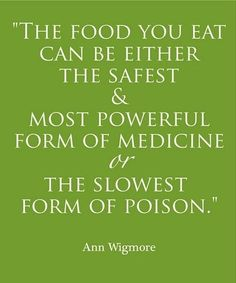 Think twice before you eat.