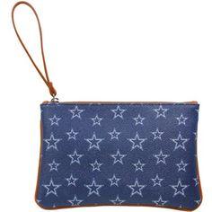 Dallas Cowboys Ladies Tailgate Kelly Leather Wristlet