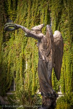 Victory Statue inside courtyard of Hotel Carnavalet, Paris France. © Brian Jannsen Photography