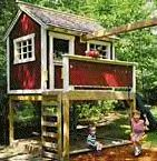 backyard cottage playhouse plans