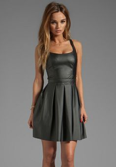 PAPER CROWN BY LAUREN CONRAD Rivington Dress in Black