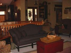primitive living room decorating photos | in the room primitive/country style - Living Room Designs - Decorating ...