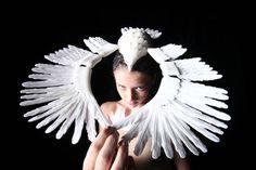 3d fashion wing head