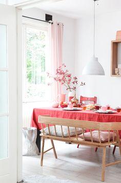 ideas for feminine autumn / dining
