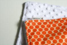 How to sew using minky fabric.