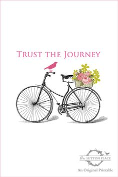 Trust the Journey Free Printable | On Sutton Place