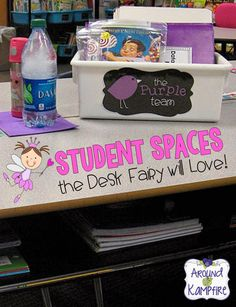 Student Spaces The Desk Fairy Will Love!