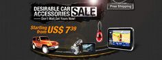 Are you always thinking about how to make your driving more comfortable? Take it easy, man!  Desirable Car Accessories Sale is available from April 17th to April 23rd. The price is starting from US$ 7.39 and all promotional products are free shipping. Your satisfaction is our guarantee. Take your order now!