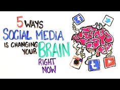 Cómo las redes sociales afectan a nuestro cerebro