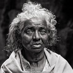 Amazing face. Portrait by M R Hasan