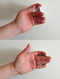 How to Do a Back Palm Vanish