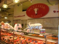 #Eataly : different #meats...
